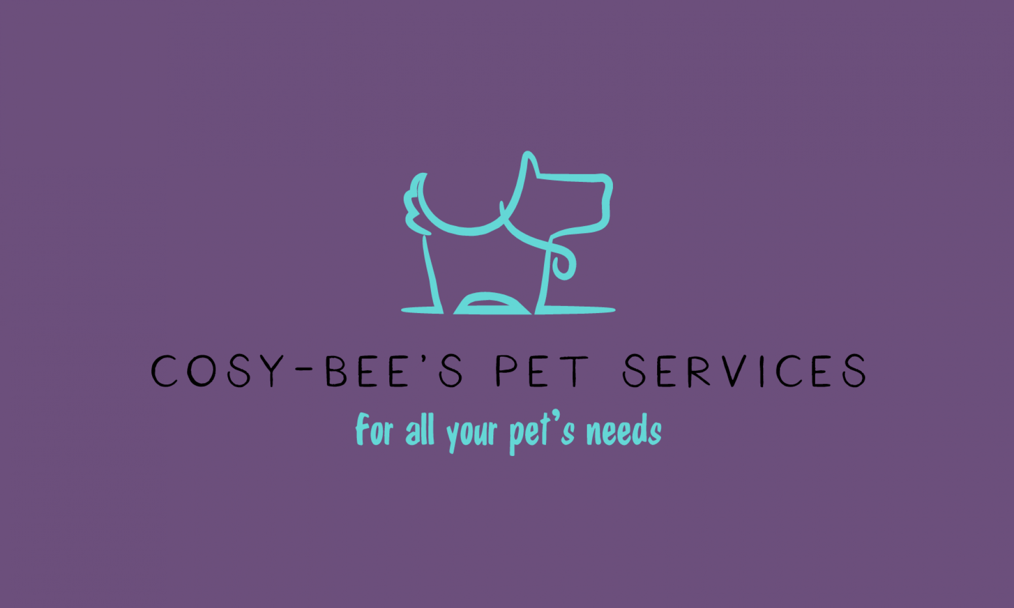 Cosy-Bee's Pet Services